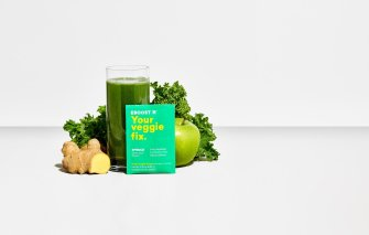 eboost spruce with kale, apple, ginger and spinach