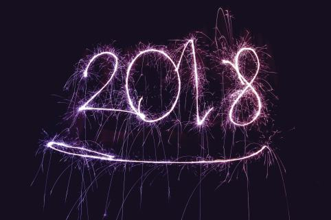 2018 written from sparklers