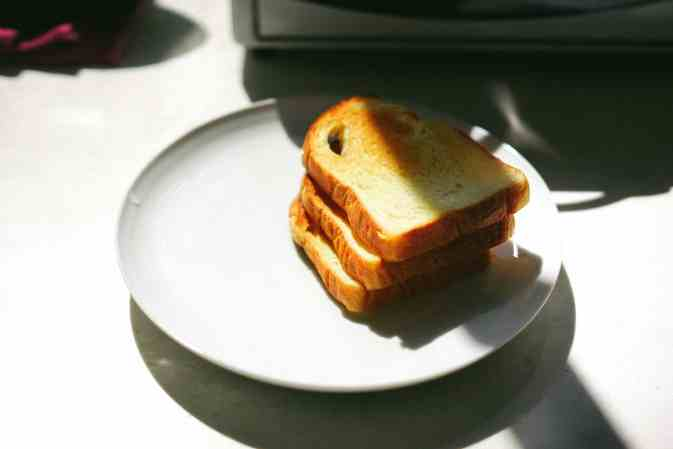 white bread toast