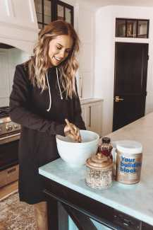Keegan Michelle cooking