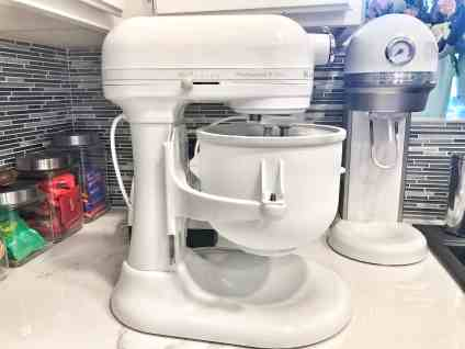 Kitchenaid white ice cream maker