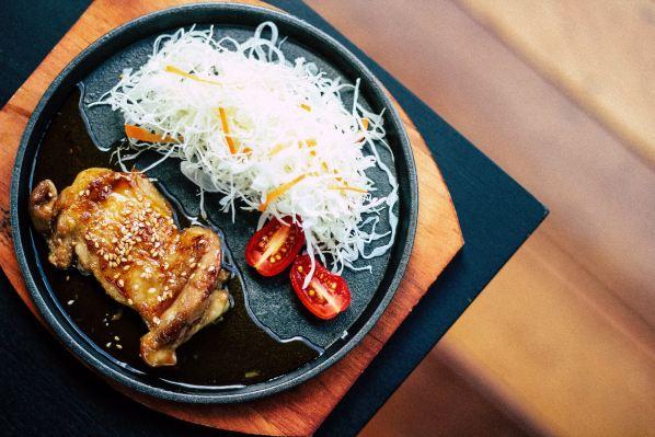 chicken teriyaki dish