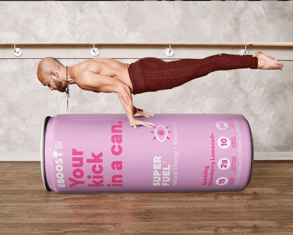 EBOOST SUPER FUEL yoga can