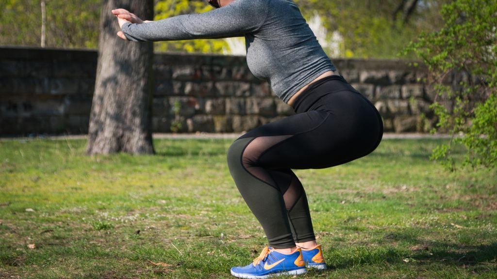 butt burn, squat