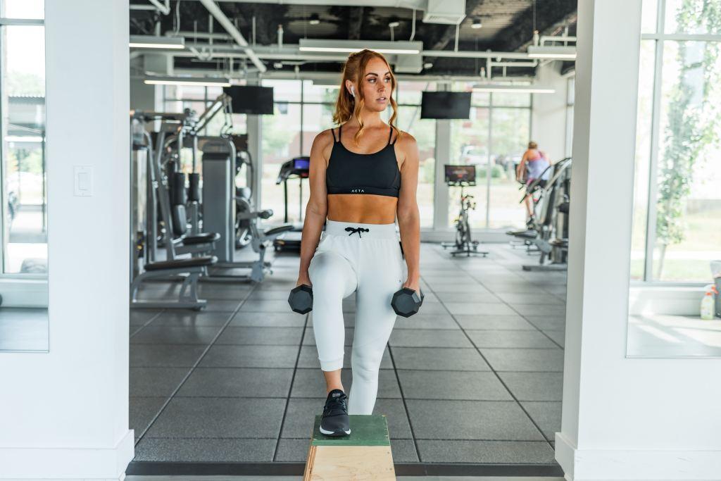 women HIIT workout