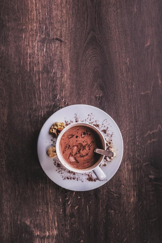 healthier hot chocolate