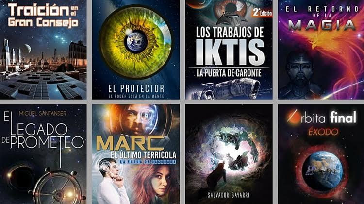 14 libros de ciencia ficción de autores independientes