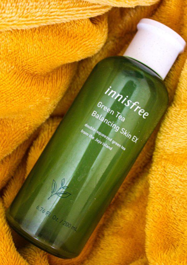Innisfree Green Tea Balancing Skin EX - Review