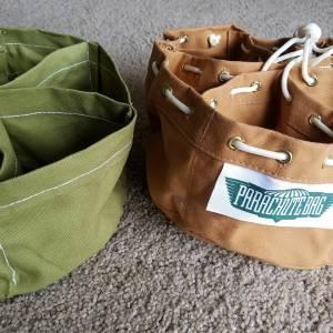 Real Parachute Bag and Reproduction