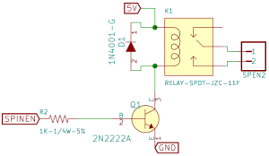 Microcontroller Relay Driver Circuit