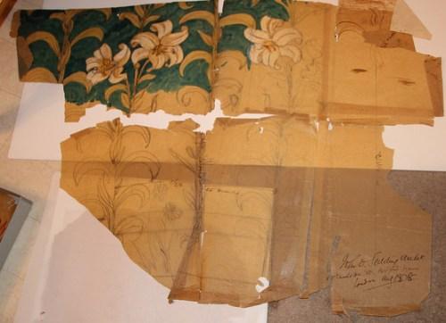 Ecclesiastical Lily design by John D. Sedding, Architect