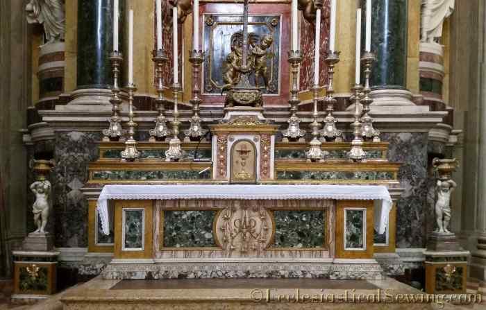 Altar and Reredos Chiesa di S. Maria della Vita BolognaA