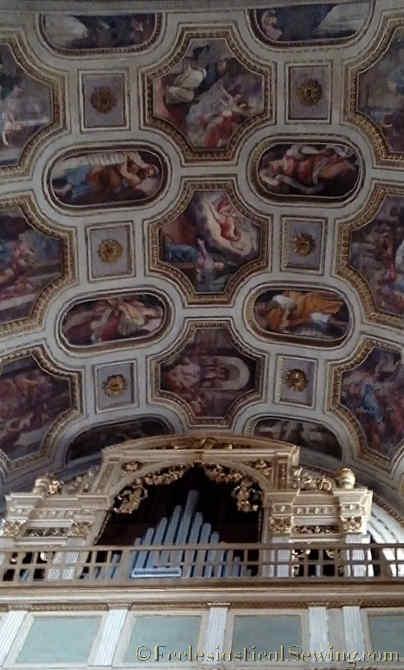 Duomo Mantova Ceiling
