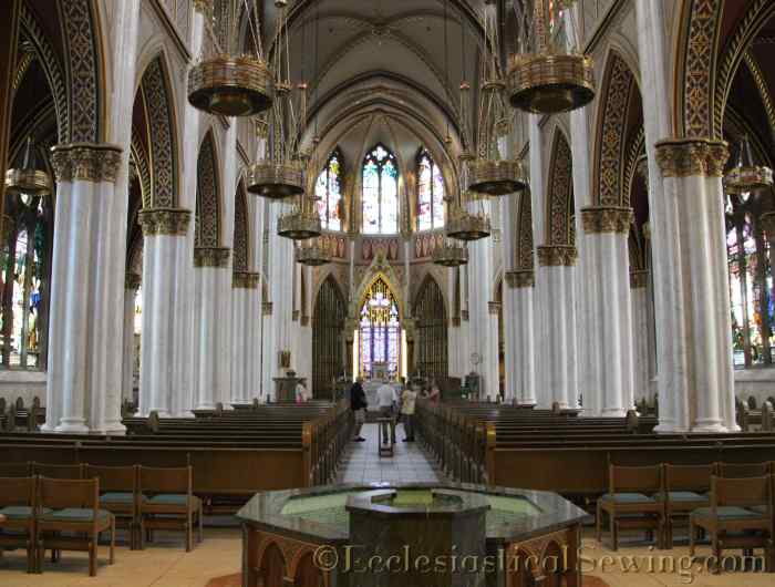 Central Aisle Cathedral fo St. Helena