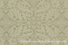 Florence Deep Cream Liturgical Brocade