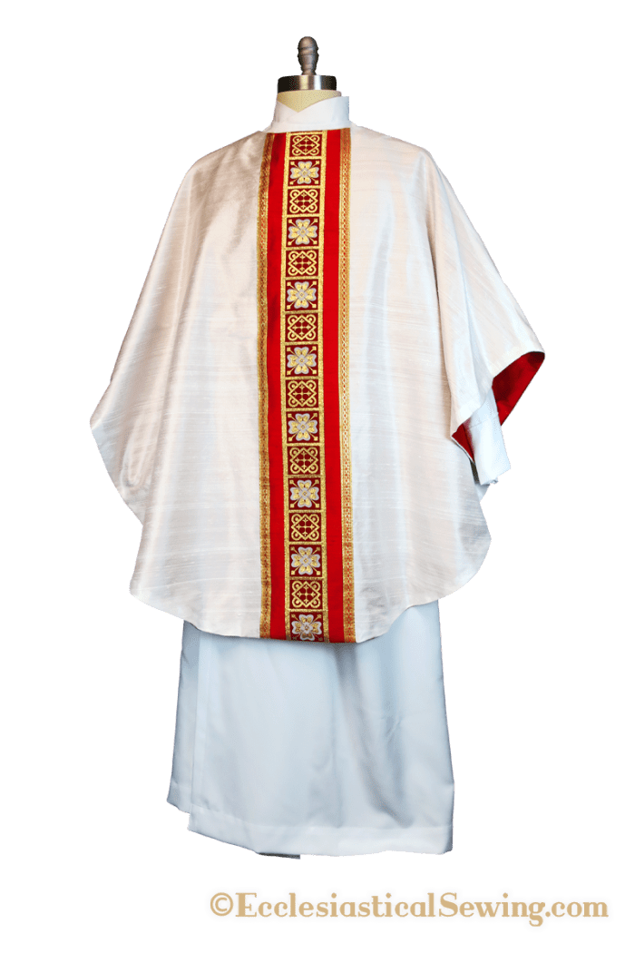 Custom size chasubles gothic chasuble roman chasuble latin mass vestments