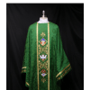 Monastic Chasuble Priest vestments Green chasuble Church vestment mass vestmentseucharist
