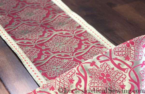 Church vestment fabric Liturgical Fabric Sewing church vestmentbs Making church vestments Ecclesaistical Sewing Chasuble patterns Chasuble orphrey bands