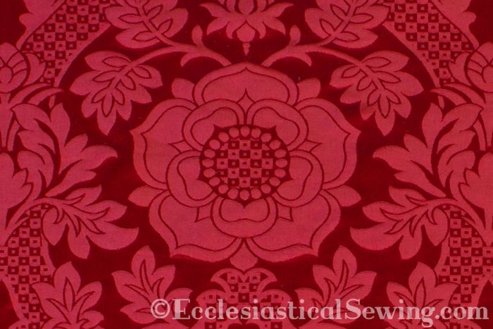 Liturgical brocade St. Margaret brocade Church vestment fabric Ecclesiastical Sewing