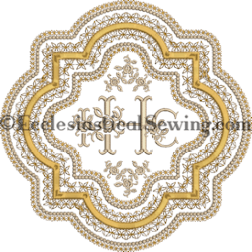 Goldwork Linen and altar hanging design Ecclesiastical Sewing