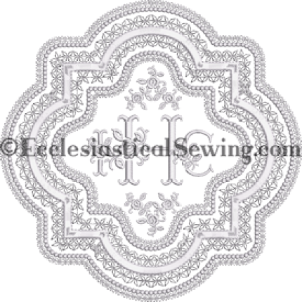 Altar linen Machine embroidery design Ecclesiastical Sewing