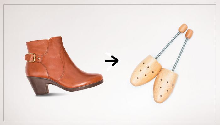 agrandar un zapato