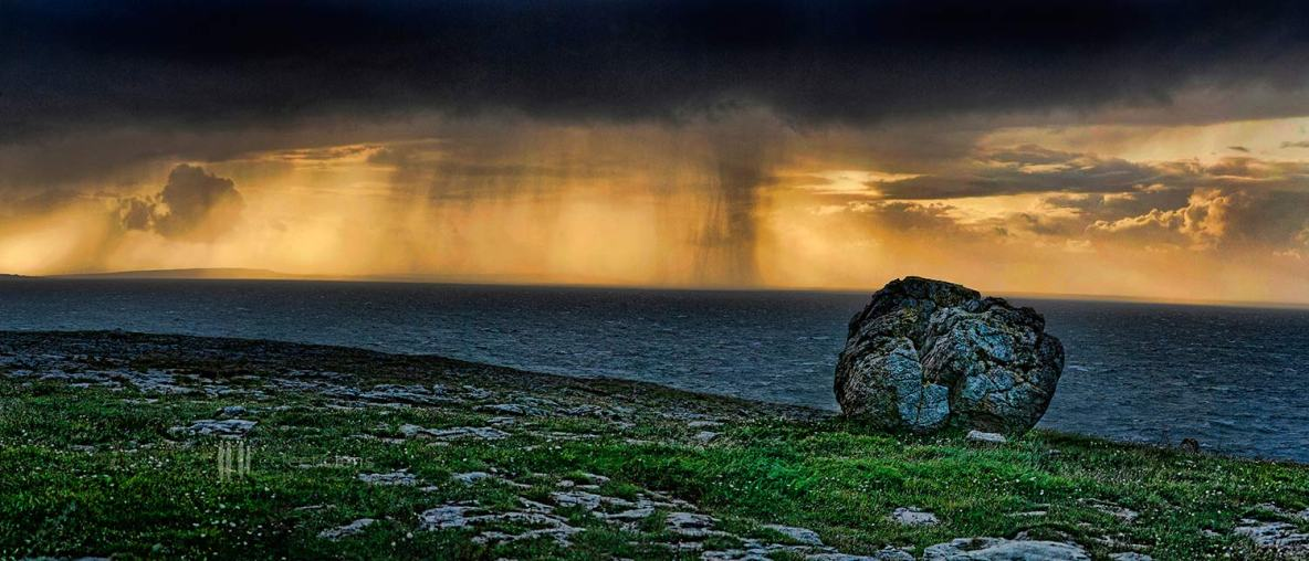 A Storm Brewing from the Aran Islands