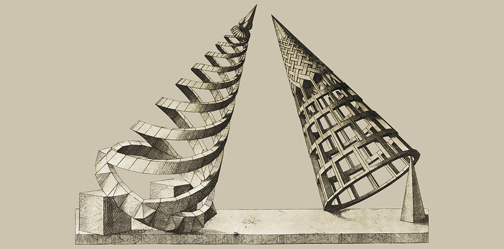 disegni e dalle prospettive di Wenzel Jamnitzer (