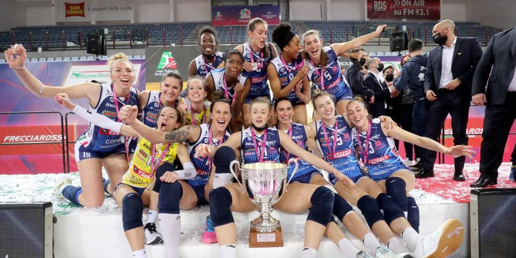 Imoco Volley vince la Coppa Italia 2021