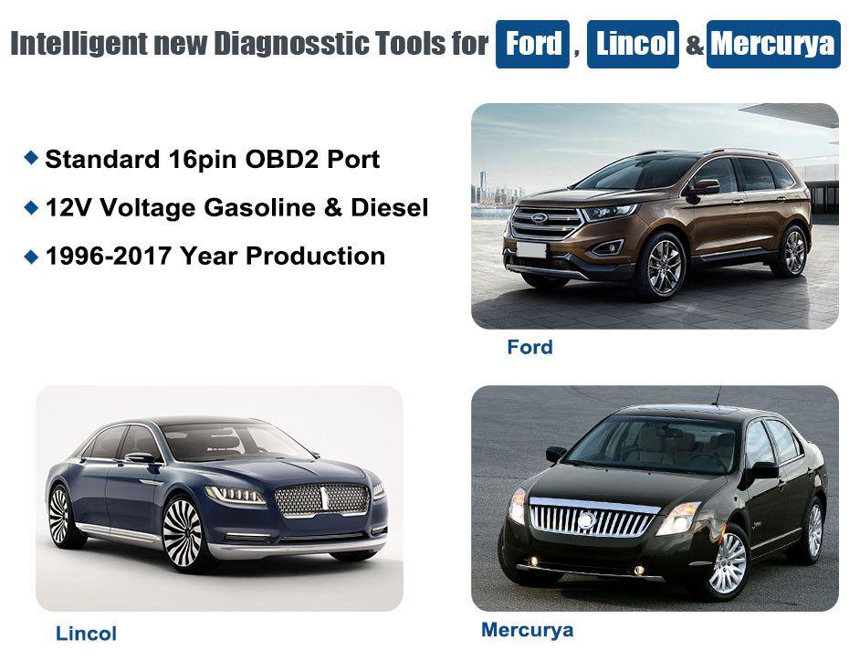 Autophix Automotive Diagnostic Tool 7710 OBDII OBD2 Scanner for Ford