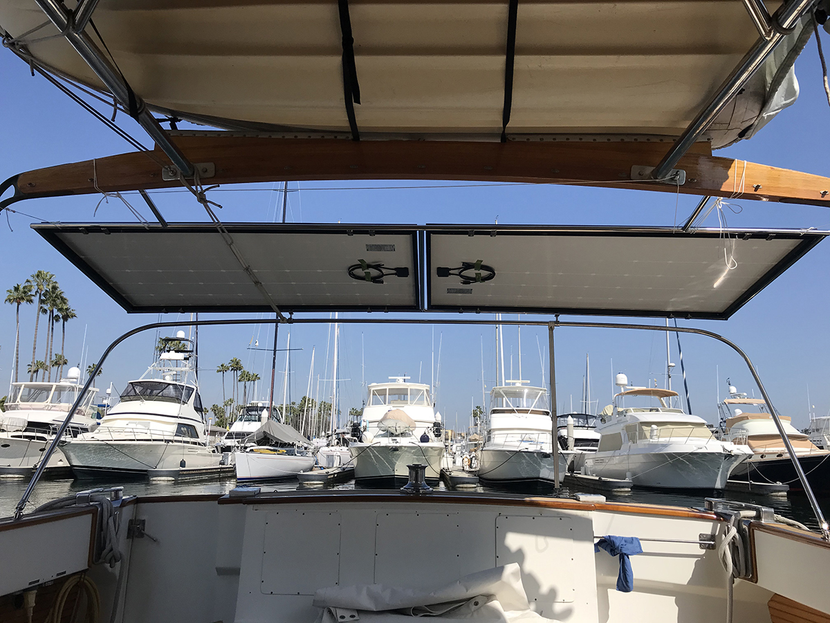 Solar in Action: Elliot in Santa Monica, CA - Off-Grid Marine