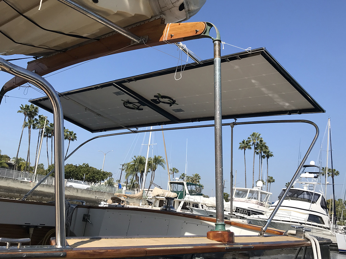 Solar in Action: Elliot in Santa Monica, CA - Off-Grid Marine