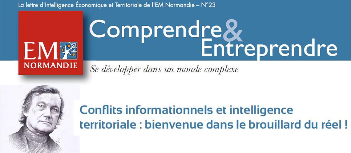 François-Bernard Huyghe : Conflits informationnels et intelligence territoriale, bienvenue dans le brouillard du réel !