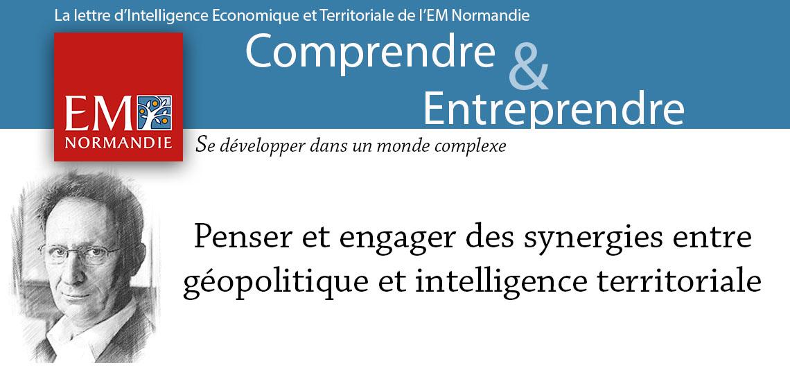 Pierre Verluise : Penser et engager des synergies entre géopolitique et intelligence territoriale