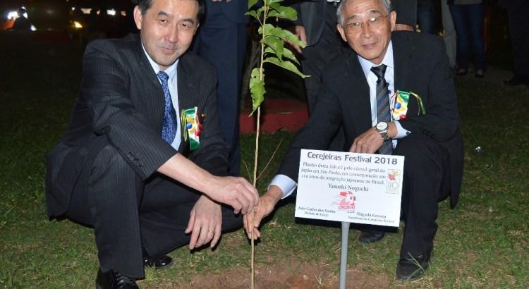 Consul-geral do Japão - Ações sustentáveis em eventos