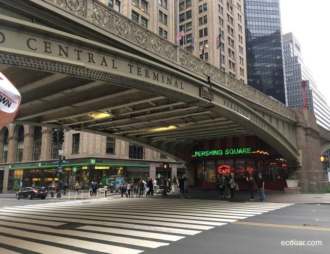 Foto mostra viaduto da Central Terminal em Nova York