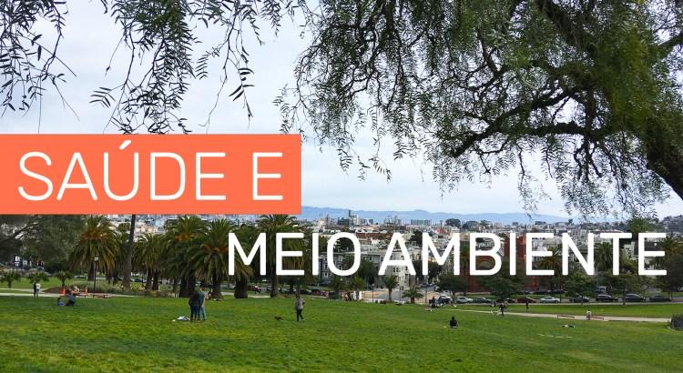 Foto mostra parque de San Francisco
