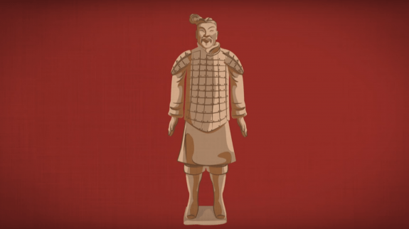 TED-Ed Terracotta warrior image