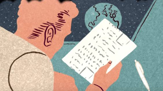 Science fiction TED-Ed image