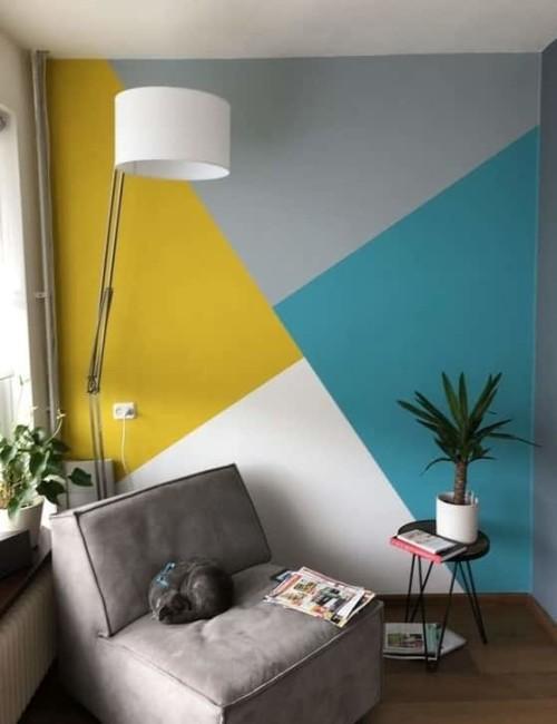 Se volete creare un effetto ancora più elegante per la vostra stanza, lasciate una cornice bianca attorno alla vostra parete da pitturare: Come Scegliere Il Miglior Colore Per Le Pareti Di Casa Blog Edilnet