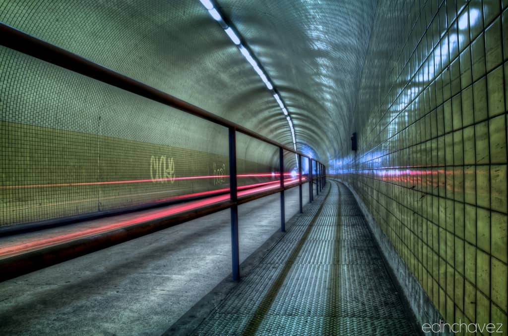 Shot of the day-The Broadway Tunnel - image  on https://blog.edinchavez.com