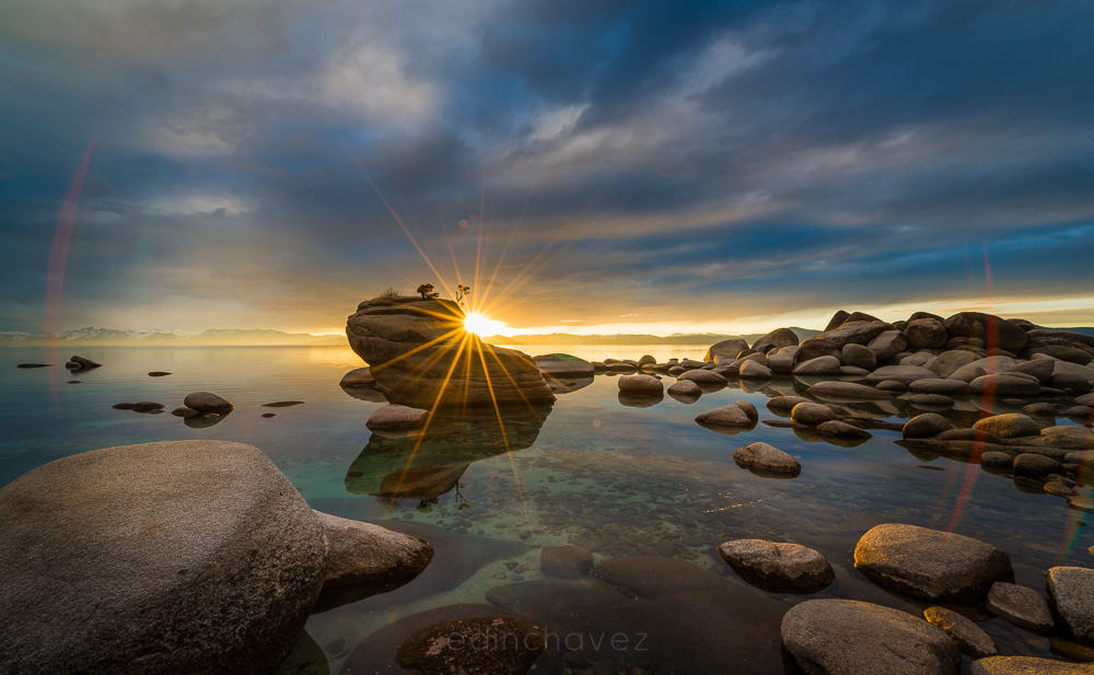 Lake Tahoe bonsai rock Location where is it