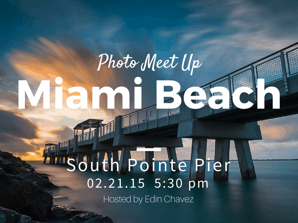 Miami Beach Sunset Meetup - image  on https://blog.edinchavez.com