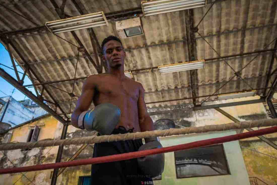 Havana boxing gym photography tours