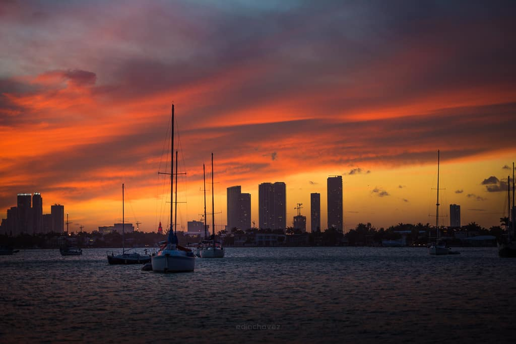 Landscape and Cityscapes Photography Presets - image Miami-Sunset-31-of-71 on http://blog.edinchavez.com