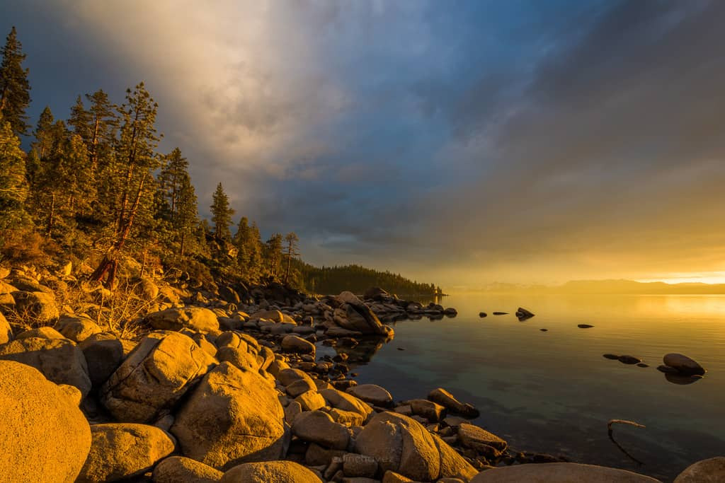 Best places to photograph in lake tahoe East shore