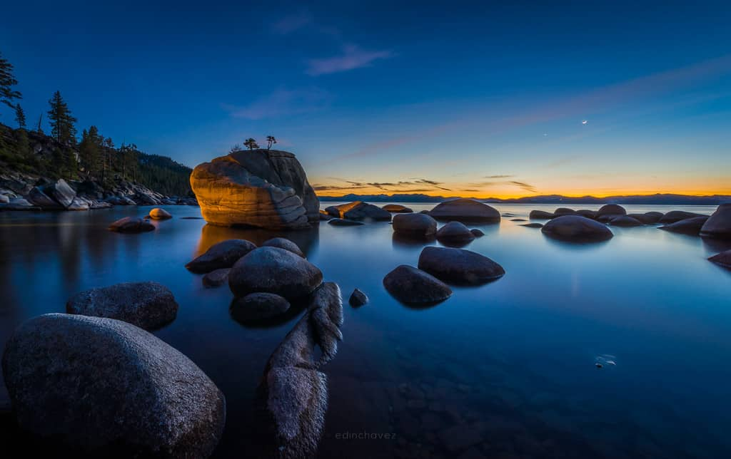 Bonsai Rock Night Photography