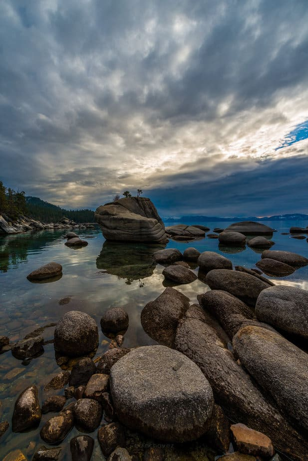 Bonsai Rock Lake Tahoe