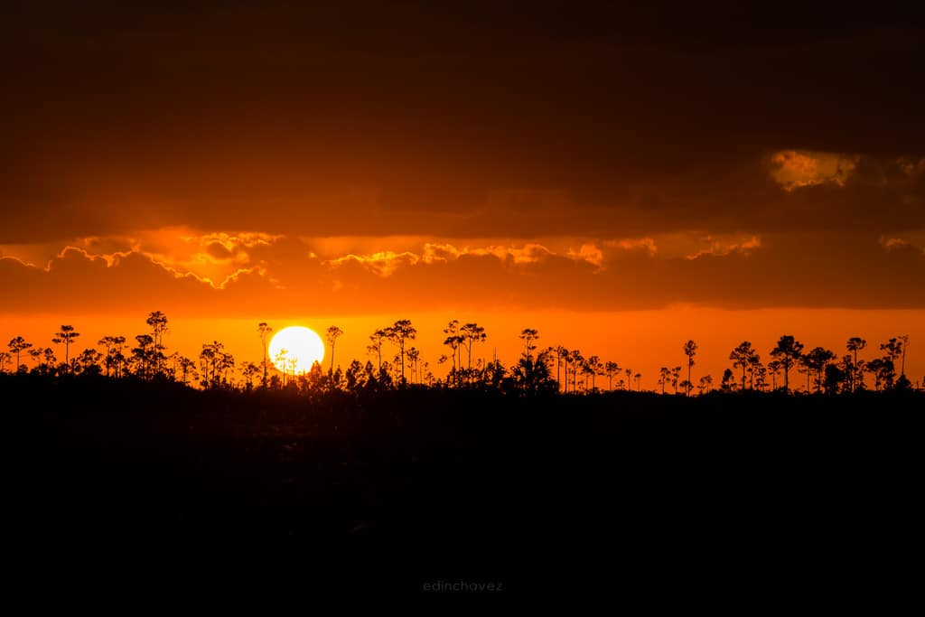 Everglades sunset best photography spots Miami