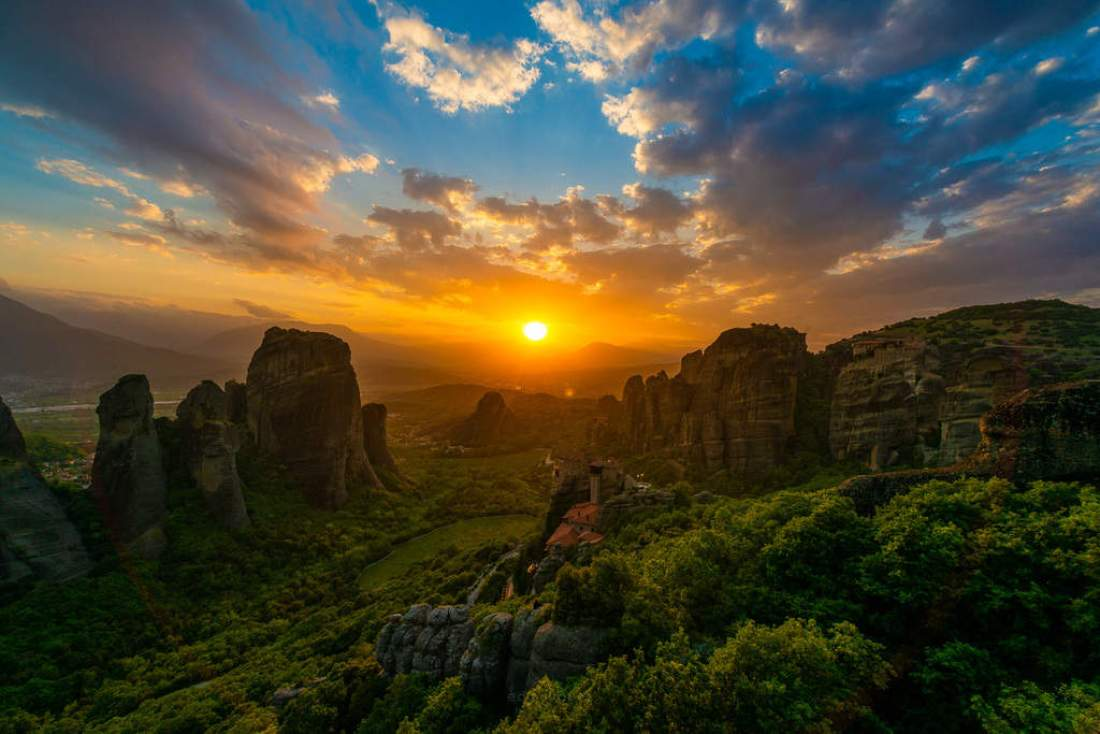Best photography spots in meteora Greece